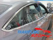 Nẹp inox viền khung kính cho Focus sedan 2012 - 2015