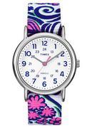 Đồng Hồ Nữ Dây Vải Timex Weekender Reversible Floral TW2P90200