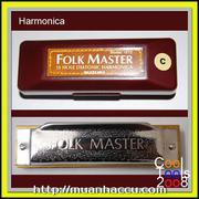 Kèn Harmonica Suzuki Folk Master 10 lỗ