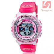 Đồng hồ điện tử đeo tay thể thao Popart 310 - Hồng nhạt