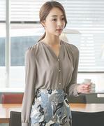 Áo sơ mi nữ Hàn Quốc BL10674