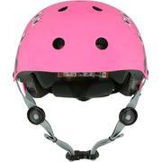 Mũ bảo hiểm trượt patin & đạp xe Play 7 - Hồng Sakura