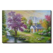 Tranh in canvas sơn dầu Thế Giới Tranh Đẹp Scenery 272