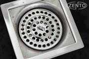 Phễu thoát sàn máy giặt chuyên dụng Zento TS106 (100x100)