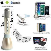 Micro Hát Karaoke Bluetooth Tích Hợp Loa