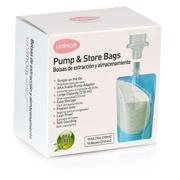 Túi Trữ Sữa Mẹ Trực Tiếp Từ Máy Hút Sữa Unimom 10 Túi