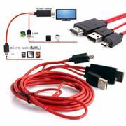 Cáp MHL kết nối TV cho các loại điện thoại ZTE, Asus, Acer, Alcatel, Sharp