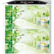 Bộ 2 giấy dán bếp cách nhiệt cỡ lớn 60*90cm( Trúc xanh)
