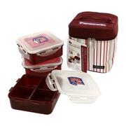 Bộ hộp cơm và túi giữ nhiệt Lock&lock HPL823DP Panasonic