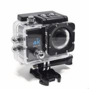 Camera hành động Waterproof 4K Sports WIFI LED 4K ULTRA HD DV (Đen)