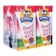 Sữa tươi Devondale Smart 200ml (4 hộp)
