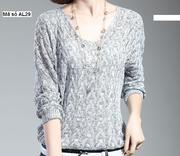 Áo len cánh dơi dệt kim phong cách Hàn Quốc sành điệu AL29