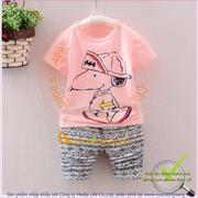 Bộ quần áo trẻ em mùa hè GLSET025