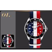 Đồng hồ đeo tay dây vải SKMEI 9133