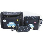 Bộ 3 túi xách cho mẹ và bé hình ôtô - DHS-00117