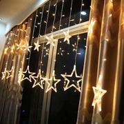 Đèn nháy thả mành ngôi sao