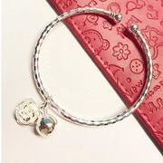 Lắc tay tròn bạc 925 Pinky Accessories LPT3