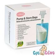 Túi trữ sữa mẹ trực tiếp từ máy hút sữa Unimom (10 túi) UM870257