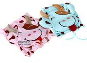 Áo khoát hình bò sữa với 3 màu xanh, hồng và vàng cực xinh và đáng yêu cho bé dưới 4 tuổi