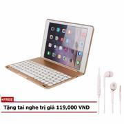 Bàn phím ốp lưng LED keyboard iPad Pro 9.7 Tặng tai nghe