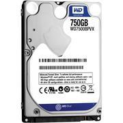 HDD 750GB WD Blue Notebook WD7500BPVX