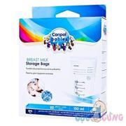 Túi trữ sữa Canpol 70/001