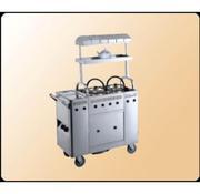 Xe đẩy phục vụ bếp inox EAST 111601