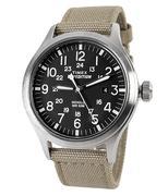 Đồng hồ nam dây vải TIMEX T49962 - Nâu