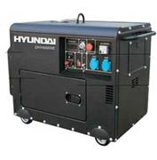 Máy phát điện chạy dầu Diesel Hyundai DHY 6000SE (5.0 - 5.5Kw)