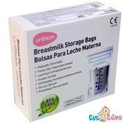 Túi trữ sữa Unimom không BPA 30 túi - UM870251(Trắng)