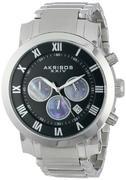 Đồng hồ Akribos XXIV nam AK622SSB Grandiose Chronograph Quartz Stainless Steel