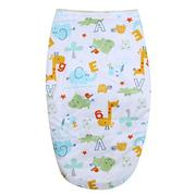 Newbaby Bathrobes Double Layers Short Plush Sleeping Bag - intl