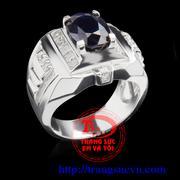 Nhẫn nam đá quý sapphire