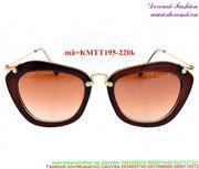 Kính mát Miumiu phong cách thời trang sành điệu KMTT195