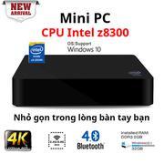 Mini PC cấu hình khủng chip Intel Quad Core RAM 2GB