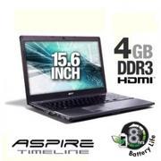 Acer Aspire Timeline AS5810TZ-4429 LX.PDM0X.110 Notebook PC - Intel Pentium ULV SU2700 1.3GHz, 4GB D...