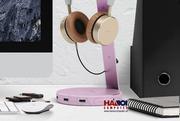 Giá treo tai nghe Hagibis USN Hub Pink 2.0