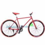 Xe đạp Fixed Gear Single (Đỏ phối đen) - SAMSUNG CONNECT