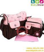 Túi đựng đồ cho bé Carter's hồng(1 túi to và 1 túi nhỏ)