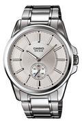 Đồng hồ nam dây inox Casio MTP-E101D-1A2VDF