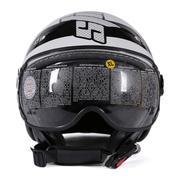 Mũ bảo hiểm Andes AS-210C (Tem) DD14 (Trắng, con ong đen)