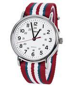 Đồng hồ nam dây vải TIMEX T2N746 - Đỏ đô