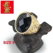Nhẫn Nam Inox Mạ Vàng 24K