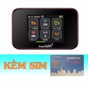 Bộ Phát Wifi 3G/4G Emobile GL10P+Sim 4G Vinaphone Khuyễn Mãi 120GB/Tháng