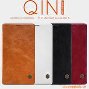 Bao Da Microsoft Lumia  950 XL ( Hiệu NillKin, QIN Series )