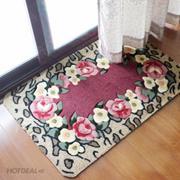 Bộ 2 thảm chống thấm chùi chân họa tiết 3D