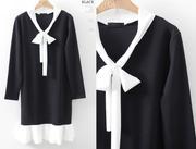 Váy liền thân Hàn Quốc DR26013