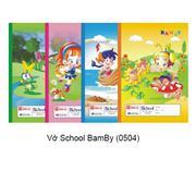 Vở School BamBy (0504)