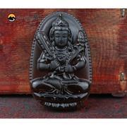 Dây chuyền nam mặt Phật Hư Không Bồ Tát Độ Mệnh Tuổi Sửu-Dần