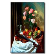 Tranh in canvas sơn dầu Thế Giới Tranh Đẹp Static-149